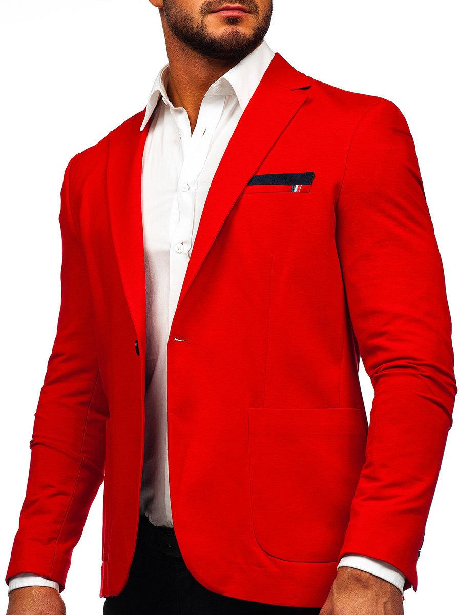 Піджак чоловічий RIPRO 1652 червоний ЧЕРВОНИЙ 4600bb21d69bd