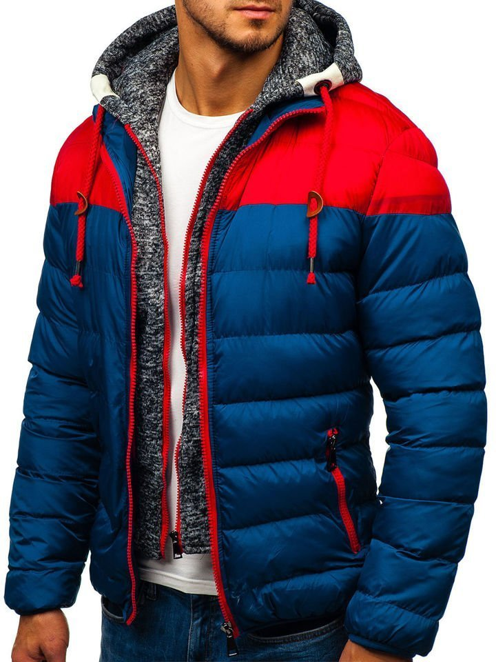 ... Чоловіча зимова куртка синя Bolf A131 ... 1a328f74e1505