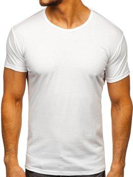 Белая футболка мужская без принта Bolf 2006