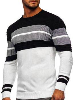 Белый мужской свитер Bolf 1058