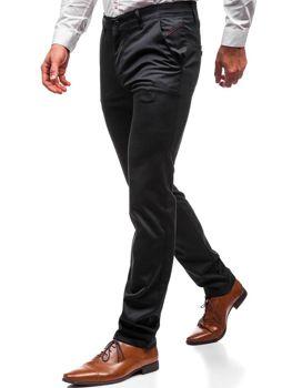Брюки мужские черные Bolf 7624