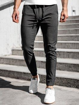 Графитовые мужские брюки джоггеры Bolf 0011