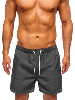 Графитовые мужские пляжные шорты Bolf YW02001
