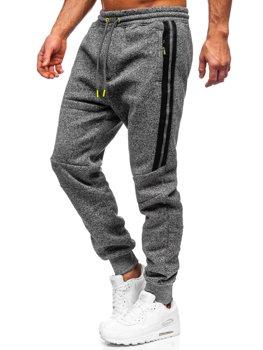 Графитовые мужские спортивные брюки BOLF TC980