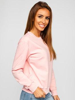Женская светло-розовая толстовка Bolf WB11002