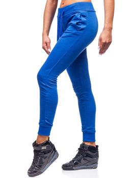 Женские спортивные брюки васильковые Bolf WB11003