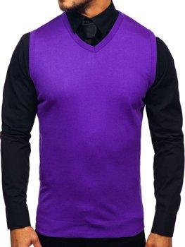Жилет мужской фиолетовый Bolf 2500