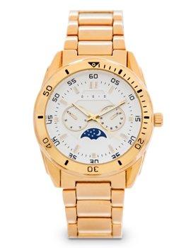 Золотые мужские наручные часы из стали Bolf 5687-1