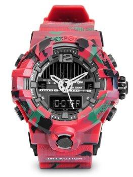 Красный камуфляж мужские наручные часы Bolf 3261
