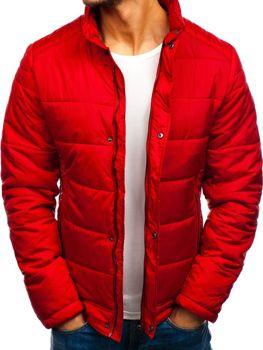 Куртка мужская демисезонная красная Bolf 83338