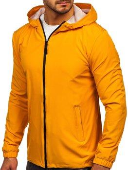 Кэмел мужская спортивная куртка ветровка  Bolf HH035