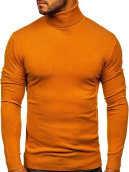Кэмел мужской свитер гольф Bolf YY02