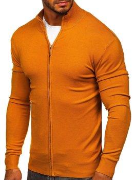 Кэмел мужской свитер на молнии Bolf  YY07