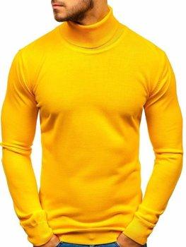 Мужская водолазка желтая Bolf 2400