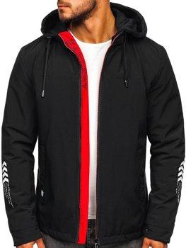 Мужская демисезонная куртка черная Bolf 5985