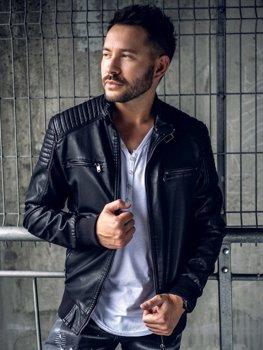 6bd89893310 Кожаные куртки мужские купить в Киеве — интернет-магазин bolf.ua