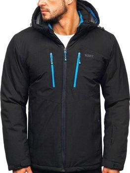 Мужская лыжная куртка черная Bolf BK193