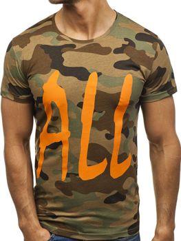Мужская футболка с принтом мультиколор Bolf 2102E