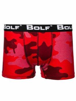 Мужские боксеры камуфляж-красные Bolf 0953-2