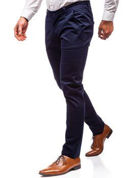 Мужские брюки чинос темно-синие Bolf 2901