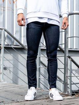 Мужские джинсовые брюки чернильные Bolf 61827