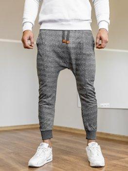 Мужские спортивные брюки багги графитовые Bolf Q5001