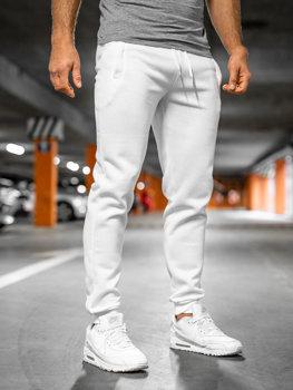 Мужские спортивные брюки белые Bolf XW01