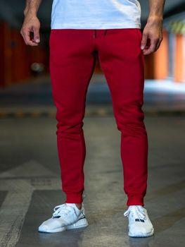 Мужские спортивные брюки бордовые Bolf XW01