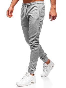 Мужские спортивные брюки серые Bolf JZ11001