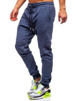Мужские спортивные брюки темно-синие Bolf Q3778