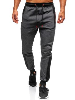 Мужские спортивные брюки черные Bolf TC849