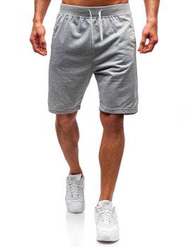 Мужские спортивные шорты серые Bolf DK01