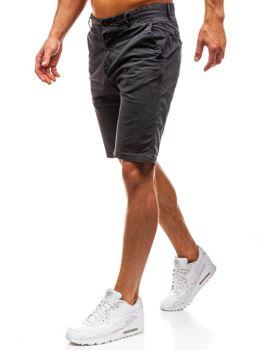 Мужские шорты графитовые Bolf 82227
