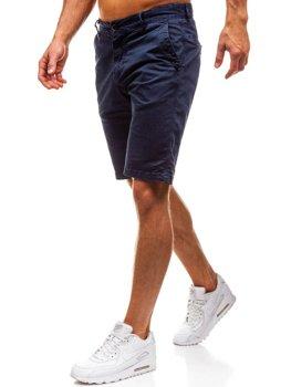 Мужские шорты темно-синие Bolf 82227