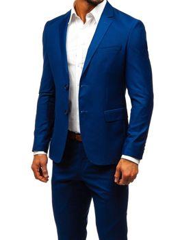 Мужской костюм темно-синий Bolf 19100