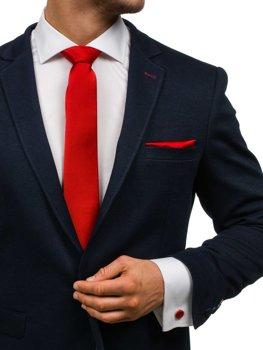 Мужской набор галстук, запонки, пашетка темно-красный Bolf KSP01