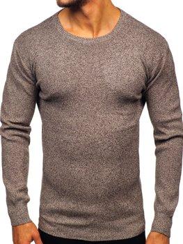 Мужской свитер коричневый Bolf 8529