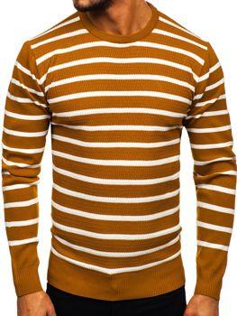 Мужской свитер кэмел Bolf H6052