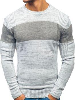 Мужской свитер серый Bolf 82901