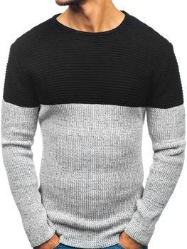 Мужской свитер черный Bolf 164