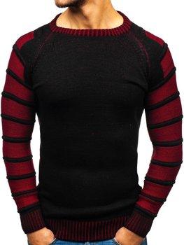 Мужской свитер черный Bolf 6007