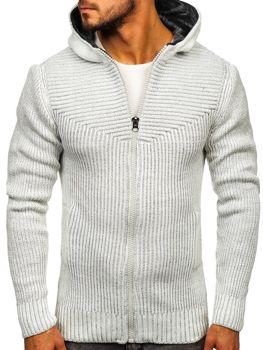 Мужской свитер экрю Bolf 20008