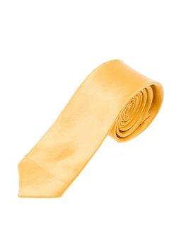 Мужской элегантный галстук желтый Bolf K001