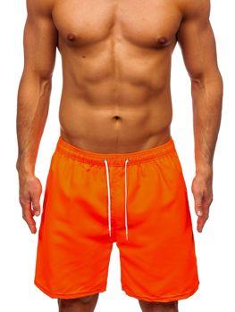 Оранжевые мужские пляжные шорты Bolf ST003