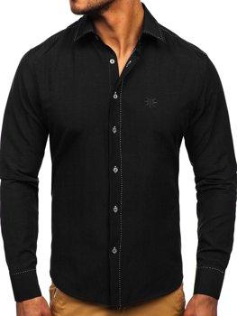 Рубашка мужская BOLF 4719 черная
