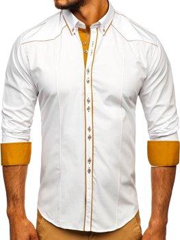 Рубашка мужская BOLF 4777 белая