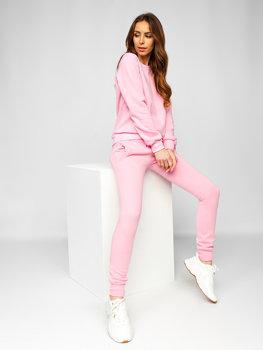 Светло-розовый женский спортивный костюм Bolf 0001