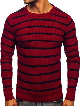 Свитер мужской бордовый Bolf 4356