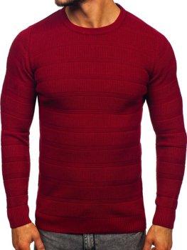 Свитер мужской бордовый Bolf 4357