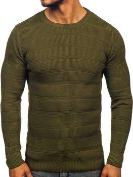 Свитер мужской зеленый Bolf 4357